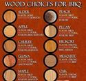 Wood Choices for BBQ
